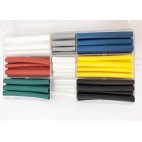 Best 90PCS Colorful Polyolefin Heat Shrink Tubing For Mobile Phone Data Cable Or Wire Repair wholesale