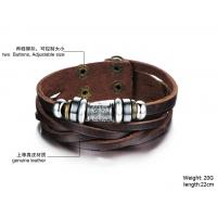 2014 Wholesale fashion jewelry leather braclet hot sales factory priceBR37
