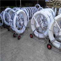 Best Fiberglass duct rodder with wheels ,Snake rodder with wheels wholesale