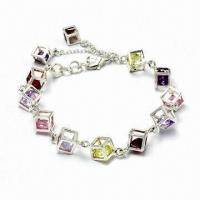Best Silver/Brass Charm Bracelet, Customized Designs Accepted wholesale
