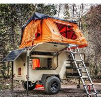 Best Easy Installation Roof Rack Awning Tent , Breathable Car Awning Tent For 3 Person wholesale