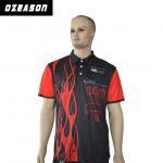 Best 100% Polyester Custom Design Logo Breathable Slim Fit Polo Shirt wholesale