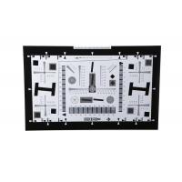 Best iso 12233 2000 lines camera lens resolution test chart both on paper and glass (chrome print) 0.5x 200mm*356mm 16:9 wholesale