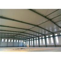 China Clean Span Steel Steel Structure Warehouse Metal Storage Buildings ASTM A36 on sale