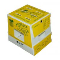 China Foldable Corrugated Plastic Boxes In Cold Storage , Asparagus Boxes on sale