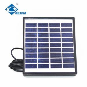 China 9V 1.5W high quality new standard solar panel ZW-1.5W-9V Mini Glass Laminated Solar Panels on sale