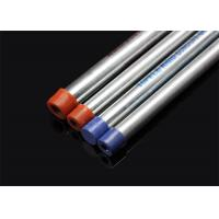 Best BS 4568 / BS 31 Hot Dip Galvanized Conduit Pipe With Screwed Ends And Caps wholesale