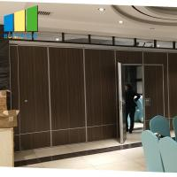 Best Interior Sliding Folding Doors Partition Acoustic Room Dividers For Conference Room wholesale