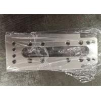 Buy cheap Milled machined aluminum cylinder mounting plate, Flange Mount caster base plate from wholesalers