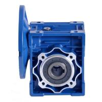 Cheap Nmrv Series Worm Drive Gearbox , Worm Gear Reducer 0.06-15KW Rated Power for sale