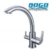 Best Chrome 3 in 1 faucet with individual channel for home RO water wholesale