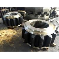 AISI 4340(34CrNiMo6,1.6582,SAE 4340)Forged Forging Steel Sugar Mill Crown Pinion Gears