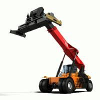 Best 45 Ton Reach Stacker Forklift Energy Saving High Security For Containers wholesale