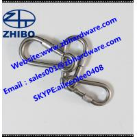 Best DIN 5299CSnap hook /carabiner/safety hook  with safety screw/lock/nut wholesale
