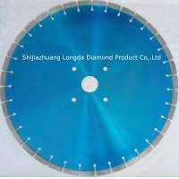 China Laser Welded Diamond Saw Blade For Granite on sale