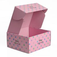 China Pink Color Printed Custom Subscription Boxes  , Women Makeup Gift Packing Box on sale