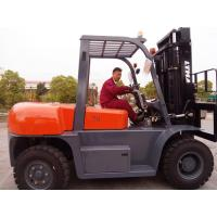 Best Compact Forearm 7 Ton Forklift , Industrial Lift Truck Pnenumatic Tire Type wholesale