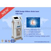Best Touch Screen Professional 808 Diode Laser Hair Removal Machine For Body wholesale