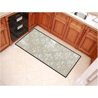 China Large Sizes Outdoor Welcome Mats , Grey Color Design Entrance Door Mats on sale