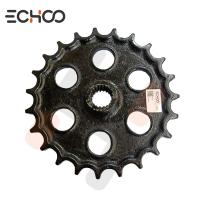 China Kubota KH120 Small Chain Sprocket / Idler Sprocket 40 Chain High Strength Mini Excavator on sale