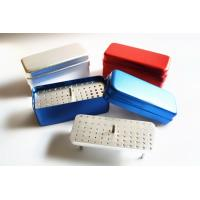 Best 72-holes bur disinfection box resistant to high temperature and pressure (three uses)-Solid core wholesale