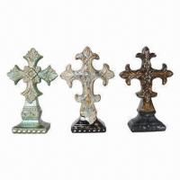 Best Ceramic Standing Cross with 3 Unique Shapes and Finish wholesale