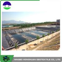 Best 3.00mm Flexible HDPE Geomembrane Liner For Wastewater Treatment Plant wholesale