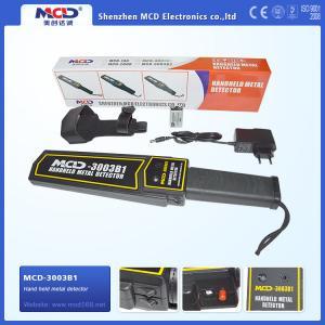Best 2017 latest Airport Hand-held metal detector body security scanner MCD-3003B1 wholesale