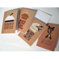 China Commercial Custom Christmas Card Printing Service , Greeting Card Printing Services on sale