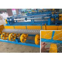 Best High Productivity Chain Link Fence Machine 380v 5.5 KW Easy Operate Control wholesale