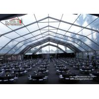Best Clear Big Event Tents Wedding Party Marquee Heavy Duty For 500 Person wholesale