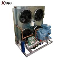 Best 14HP  Semi Hermetic Compressor Fin Type Air Cooled Condensing Unit Refrigeration System wholesale
