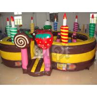 Best Birthday Cake Inflatable Playland wholesale