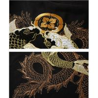 Best OEM Available Mens Trendy T Shirts With Chinese Style Embroidered Pattern wholesale