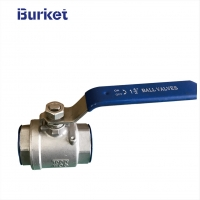 Best XYMTB40 Manual Stainless Steel 304 threaded type  Inch 2PC PN16 Ball Valve wholesale