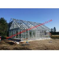 Best Galvanized H - Beam Steel Structure Framing Systems For Workshop Or Villa House wholesale