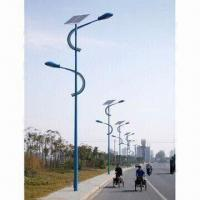 China Solar Road Light with Fully Sealed Maintenance-free Batteries and 6 to 10 Hours Lighting Time on sale