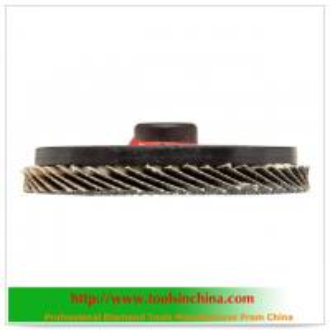 China coated abrasive flap disc on sale
