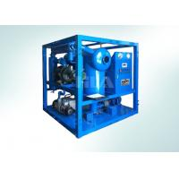 China Blue Automatic Transformer Oil Treatment Machine Consistent Operation on sale