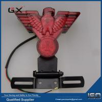 China flying eagle red cover movable bracket brake lamp Halley motorcycle modification accessories led eagle eye lamp on sale