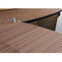 Best Durable Hardwood Bamboo Deck Tiles Corrosion Resistance For Outdoor Gazebo wholesale