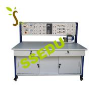 China Motor and Frequency Converter Speed Control Trainer Electrical Training Equipment Didactic Equipment Teaching Equipment on sale