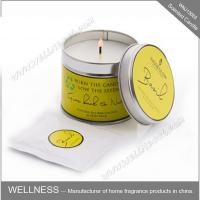 Best Essential Oil Colorful Scented Tin Candles Handmade With Customized Fragrance wholesale