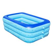 Best Customized 150cm Family PVC inflatable swimming pool wholesale