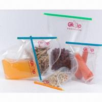 China Fresh Lock Food Bag Clips/Zippers, Keeps Foods Fresh  on sale
