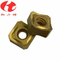 China Tungsten Carbide Milling Machine Cutting Tools , CNC Milling Inserts High Cutting Speed on sale