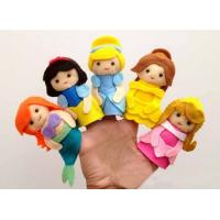 China Lovely Cartoon Disney Princess Felt Finger Puppets For Promotion Gifts And Premium on sale