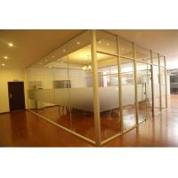 Best Modern Aluminum Glass Office Partitions Easy Assembly Heat Insulation wholesale