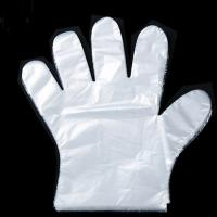 China 1.2g Food Grade Disposable Gloves , Disposable Plastic Hand Gloves In 100 Sets on sale