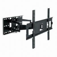 Best TV Wall Mount with Swivel Double Arm and 2 Up and 9° Down Adjustable Tilt wholesale